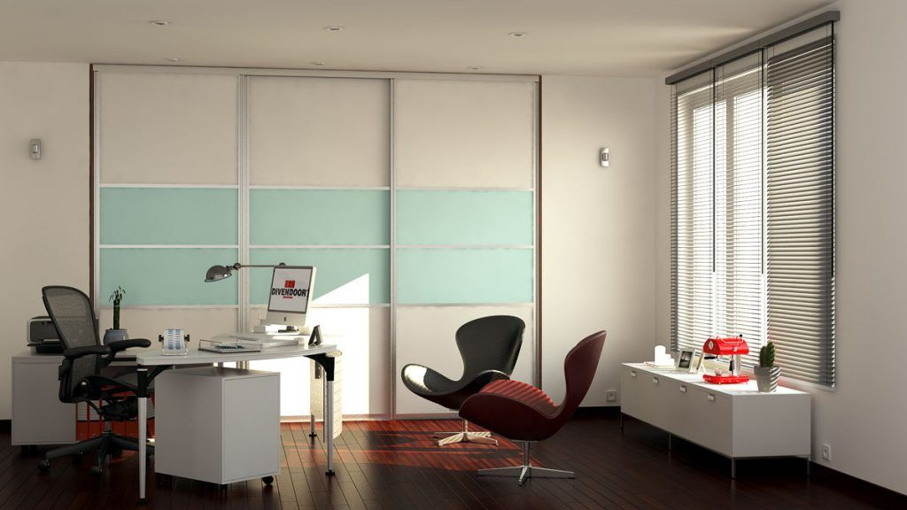 Vizualizácia kancelária